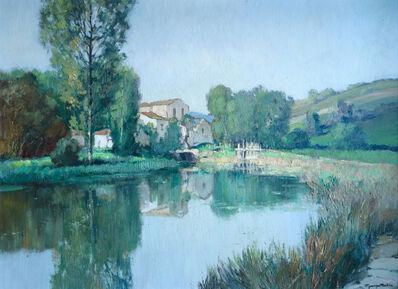 Georges Charles Robin, 'Moulin sur une Rivière', ca. 1950s
