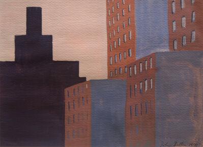 John Button, 'Downtown Skyline', 1970