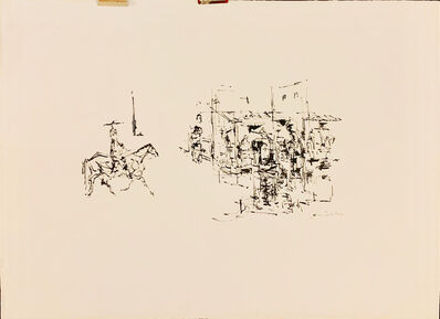 Walter Quirt, 'Untitled (Yucatan, WQ9)', 1963