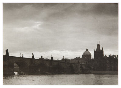Josef Sudek, 'Le Pont Charles', 1966