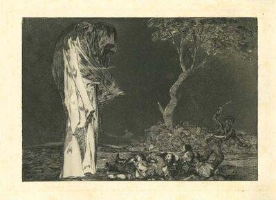 Francisco de Goya, 'Disparate de Miedo', 1875