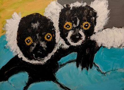 Marjorie Magid, 'The Lemur Brothers', 2018