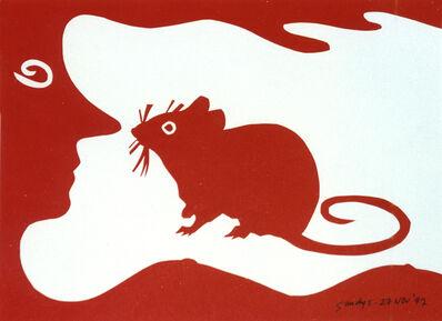Edwina Sandys, 'Red Mouse', 1997