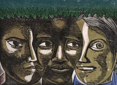 Elizabeth Catlett, 'American Women Unite (Unidad de la Mujer Americana)', 1963