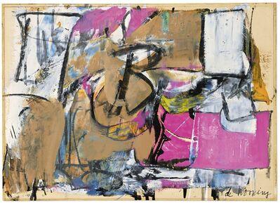 Willem de Kooning, 'Boudoir', 1950