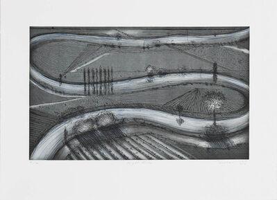 Wayne Thiebaud, 'Night River', 1998/2011