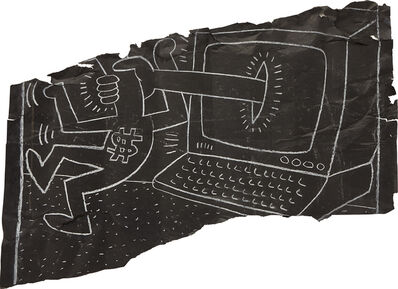 Keith Haring, 'It's Not a Laptop', 1985
