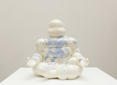 Li Lihong, 'Michelin China - Blue dragon', 2019