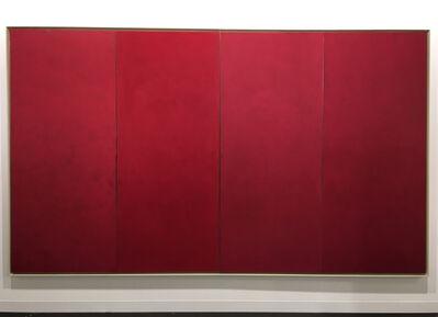 Alan Green, 'Four Vertical Reds', 1978