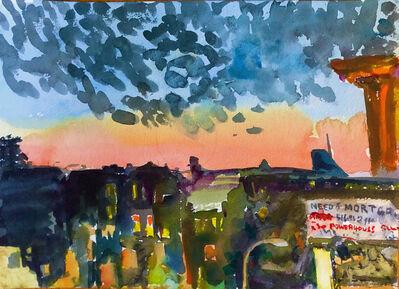Zach Seeger, 'M Train, Seneca Ave Stop', 2020