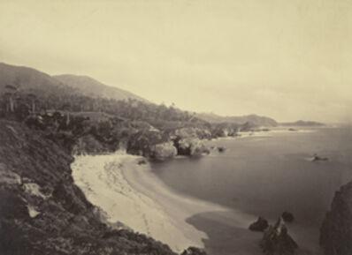 Carleton E. Watkins, 'Pacific Coast View / Gibson Beach, Pt. Lobos, Monterey Coast', 1880-1883