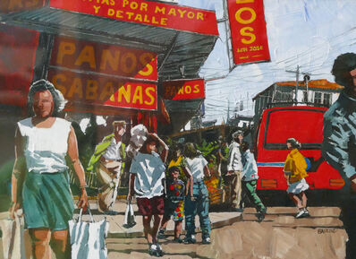 Dwight Baird, 'San José Shopping', 1997