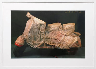 Christo, 'Wrapped Vespa ', 1963/2001