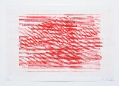 Serena Amrein, 'linienstempel 2', 2009
