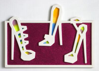 Craig Kauffman, 'Three Shoes (#65)', 2006