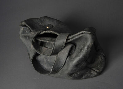 Marilyn Levine, 'Black Purse with Dust', 1970