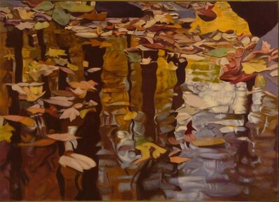 Ralph Wickiser, 'Leaves On The Water', 1980
