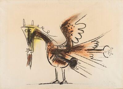 Wifredo Lam, 'Alifagno', 1961