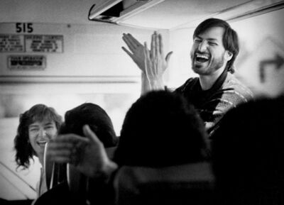 Doug Menuez, 'Steve Jobs Returning from the New Factory', 1987