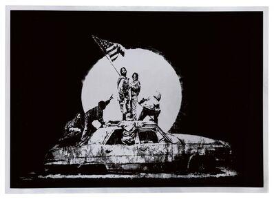 Banksy, 'Silver Flag (Print)', 2006
