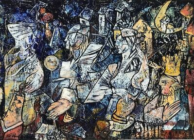 Fredy Villamil, 'Meeting in the Village'