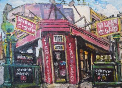 Lewis Pujol, 'Village Street Scene, Christopher Street', 2018