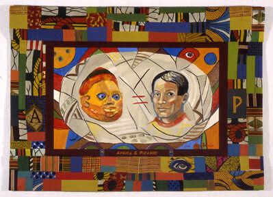 Emma Amos, 'Africa & Picasso', 2000