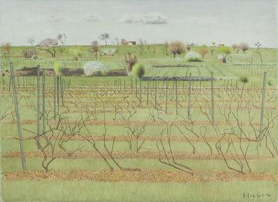 Hagop Hagopian, 'Vine Yard in Spring', 1994