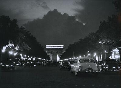 Sabine Weiss, 'Paris, Avenue des Champs Elysées', 1949