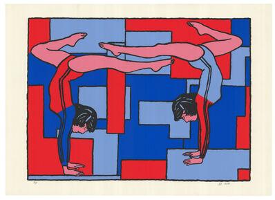 Derek Boshier, 'Gymnastics', 2002