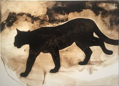 James Griffith, 'Cougar with Milky Way', 2019