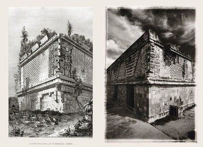 Leandro Katz, 'Uxmal, after Catherwood [House of the Nuns, southeast corner]', 1985