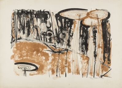 Sir Terry Frost, 'Brown Figure (Kemp 25)', 1957