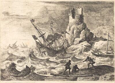 Claude Lorrain, 'The Shipwreck (Le naufrage)', ca. 1638/1641
