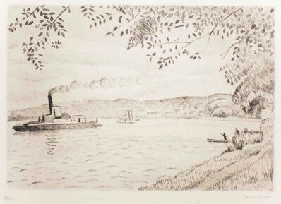 "Albert Marquet, 'La Seine - from the series ""Les Bords de Seine""', 1930"
