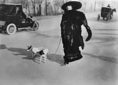 Jacques Henri Lartigue, 'Avenue du Bois de Boulogne Paris, January 15', 1911