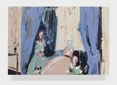 Genieve Figgis, 'Behind the curtain', 2015