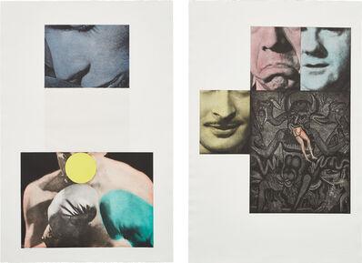 John Baldessari, 'Heaven; and Hell (Diptych) (H. 38)', 1988