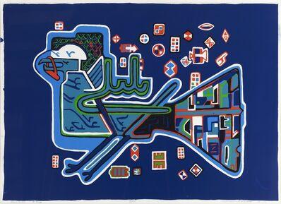 Parviz Tanavoli, ' Nightingale (To Abby)', 1974