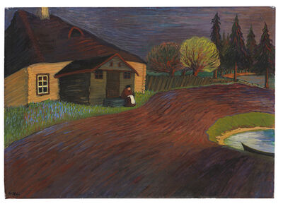 Marianne von Werefkin, 'Souvenir', 1909