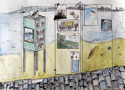 "Linus Riepler, 'Entwurf ""PLaya de San Martin""', 2015"
