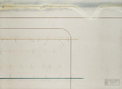 Shusaku Arakawa, 'Separated continuums', 1967
