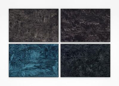 Jean-Baptiste Bernadet, 'Untitled (Black Paintings)', 2016