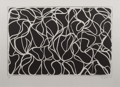 Brice Marden, 'Muses with Graphite ', 2001