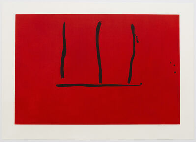Robert Motherwell, 'Untitled (E.&B. 135)', 1972-73