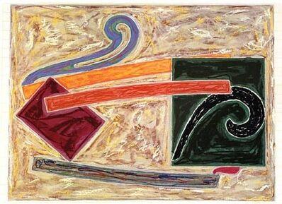 Frank Stella, 'Inaccesible Island Rail', 1977