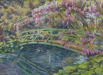 Hugues Claude Pissarro, 'Le petit pont du jardin de Ladywood', 21st Century