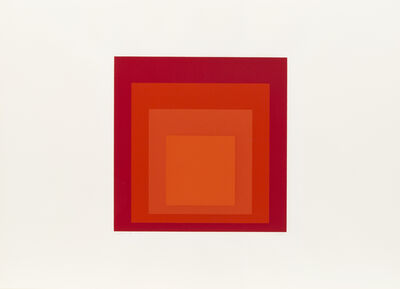 Josef Albers, 'JHM-II', 1973