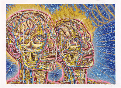 Alex Grey, 'New Man/New Woman', 1984