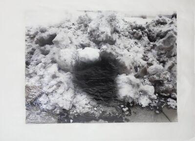 Martin Walde, 'dark.snow', 2014